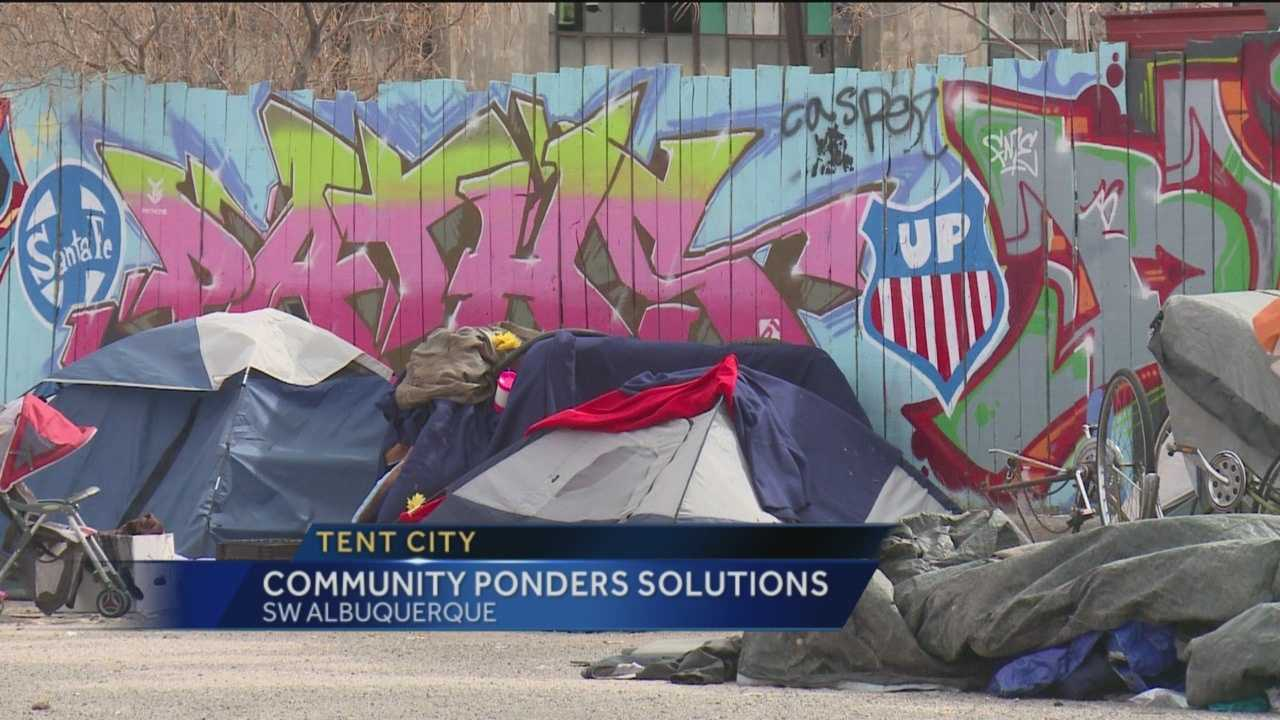 Tent City has moved into the Barelas Community after being booted from its first location on drug and crime concerns.