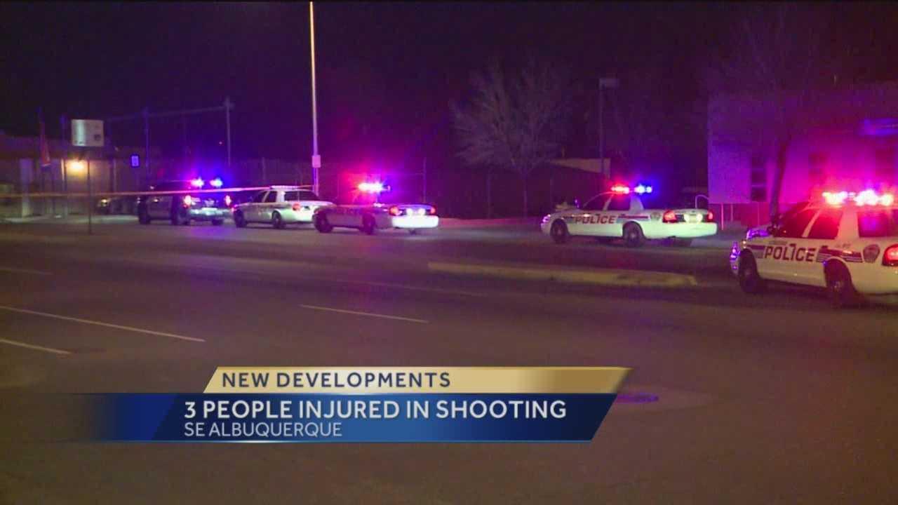 Police believe last weekend's triple shooting was gang-related.