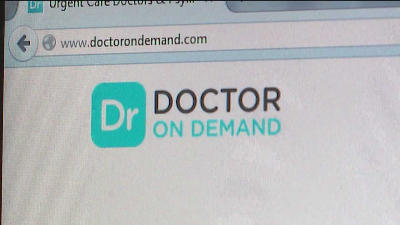 Imagine if you could Facetime or Skype a doctor from your house and even get a prescription (if necessary).