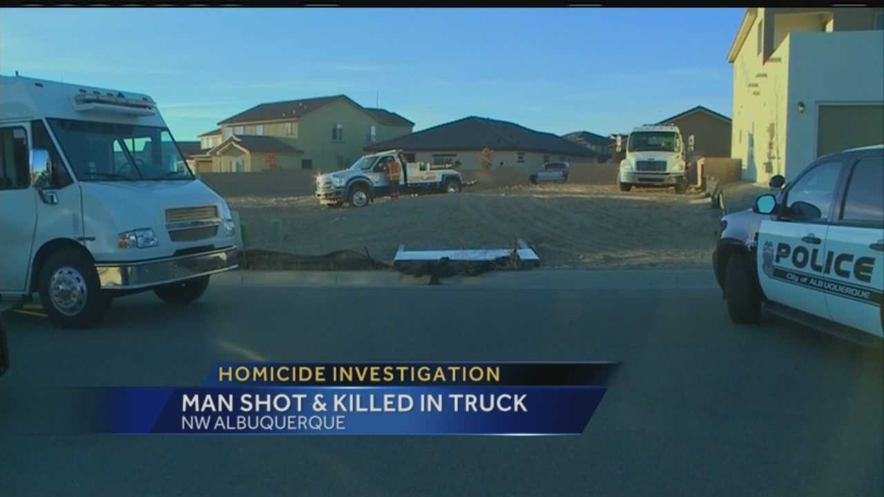 The man found dead inside a truck in northwest Albuquerque Thursday morning has been identified.