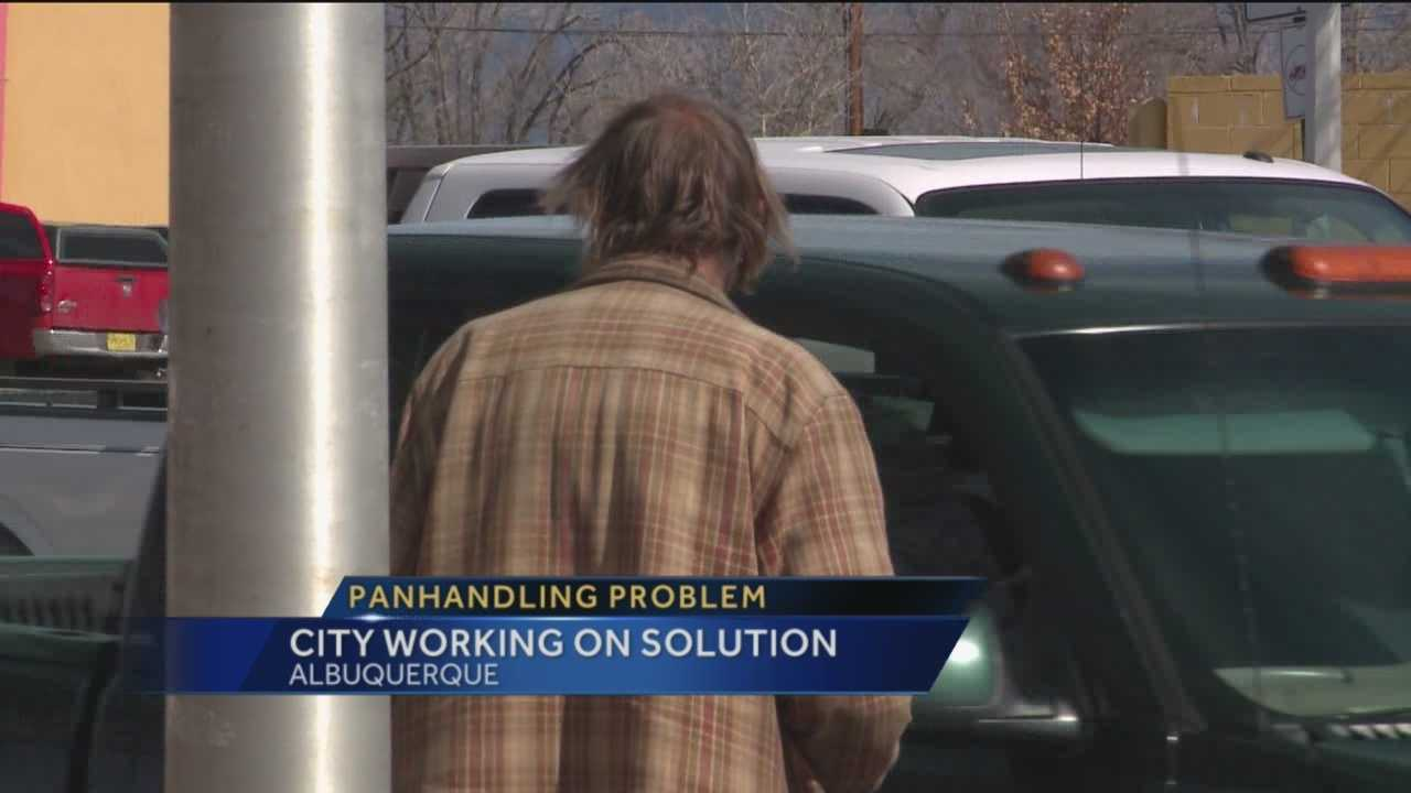 You can often see them asking for food or money at intersections, but did you know that panhandling is illegal in Albuquerque?