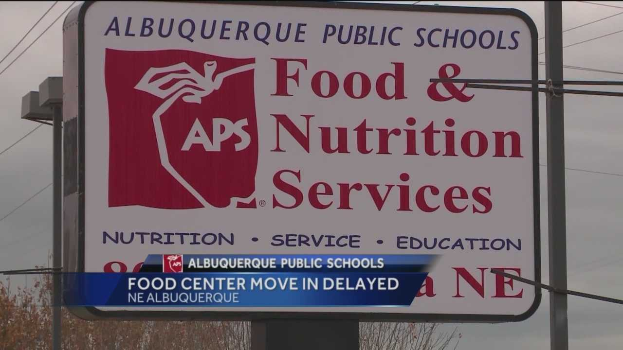 Albuquerque Public Schools says it hopes to have a new multi-million dollar food distribution center up and running before the end of the school year.