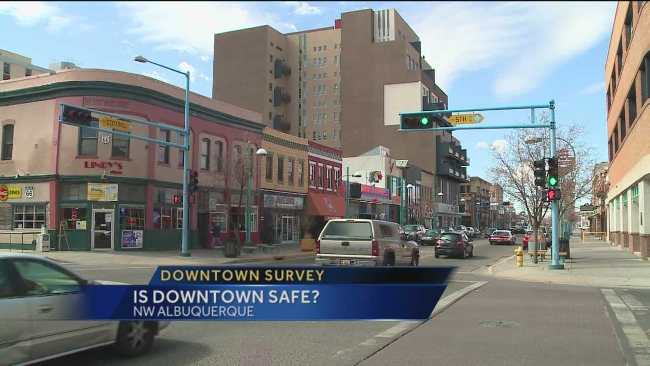Dangerous and dirty-that's how some describe downtown Albuquerque. Others say it's poised for a revival.