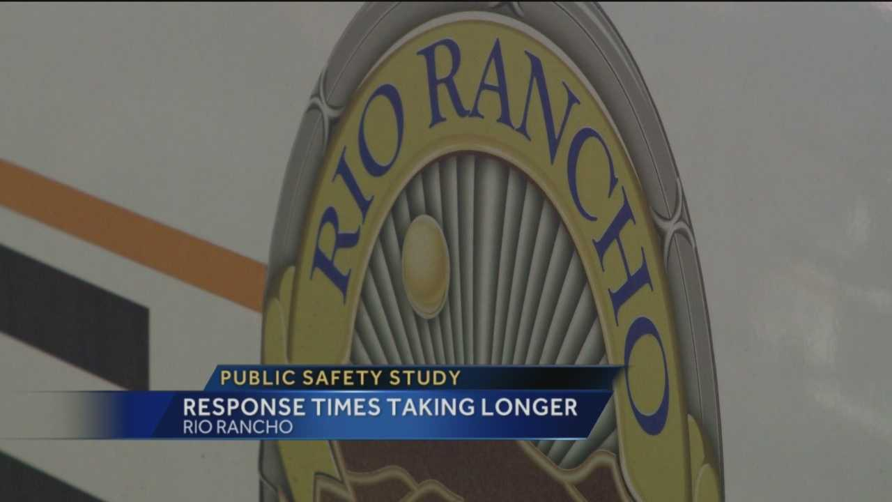 About a year after a 40-thousand dollar public safety study found that the city of Rio Rancho needed to improve emergency response times, KOAT Action 7 News reporter Angela Brauer is finding out that hasn't yet happened.