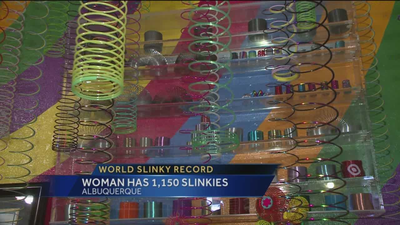 Slinkies are much more than fun and games for an Albuquerque woman.