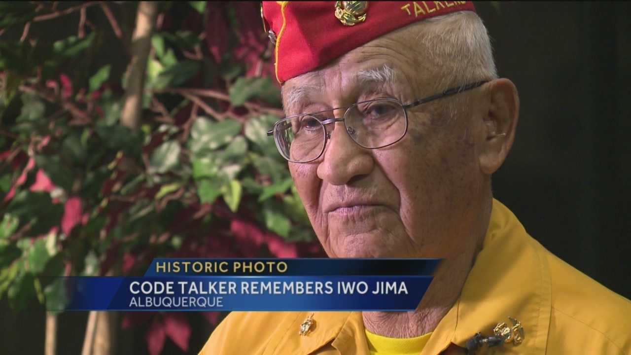 On Feb. 23, 1945, U.S. Marines raised an American flag during the battle of Iwo Jima. For the anniversary of the event, KOAT Action 7 News sat down with a Navajo Code Talker who was there.