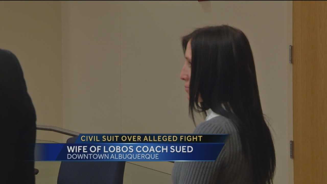 A former APS administrator said she lost her job after getting into an altercation with the wife of the Lobo men's basketball coach Craig Neal. She is suing Neal's wife as well as the district.