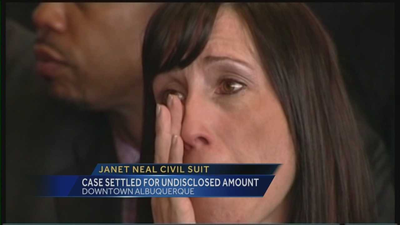 A civil lawsuit brought against the wife of a UNM basketball coach is over.