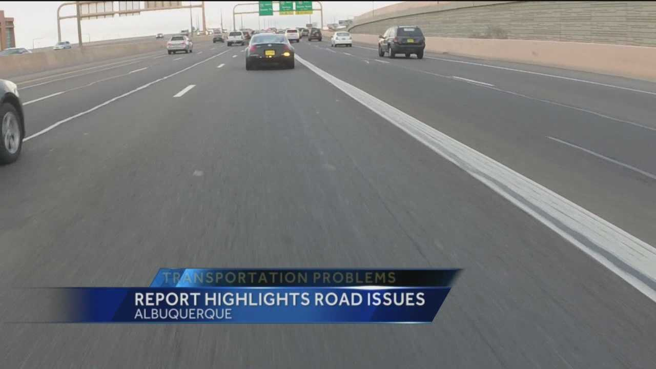 Where in Albuquerque can you find the worst roads?