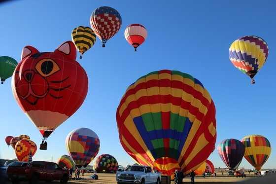 ANSWER: The hot air balloon