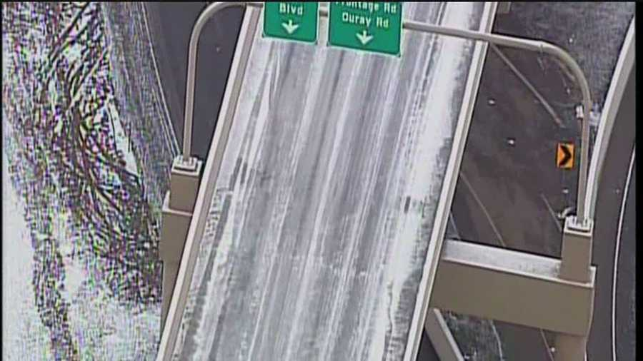 See why police closed the I-40, Coors corridor Friday morning.