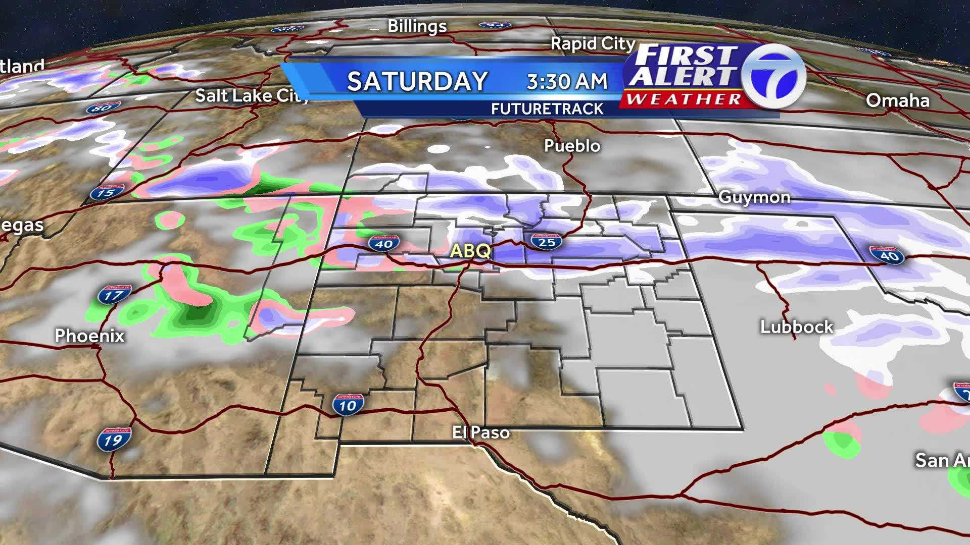 See how the weather is going to be this weekend with our First Alert Radar loop.