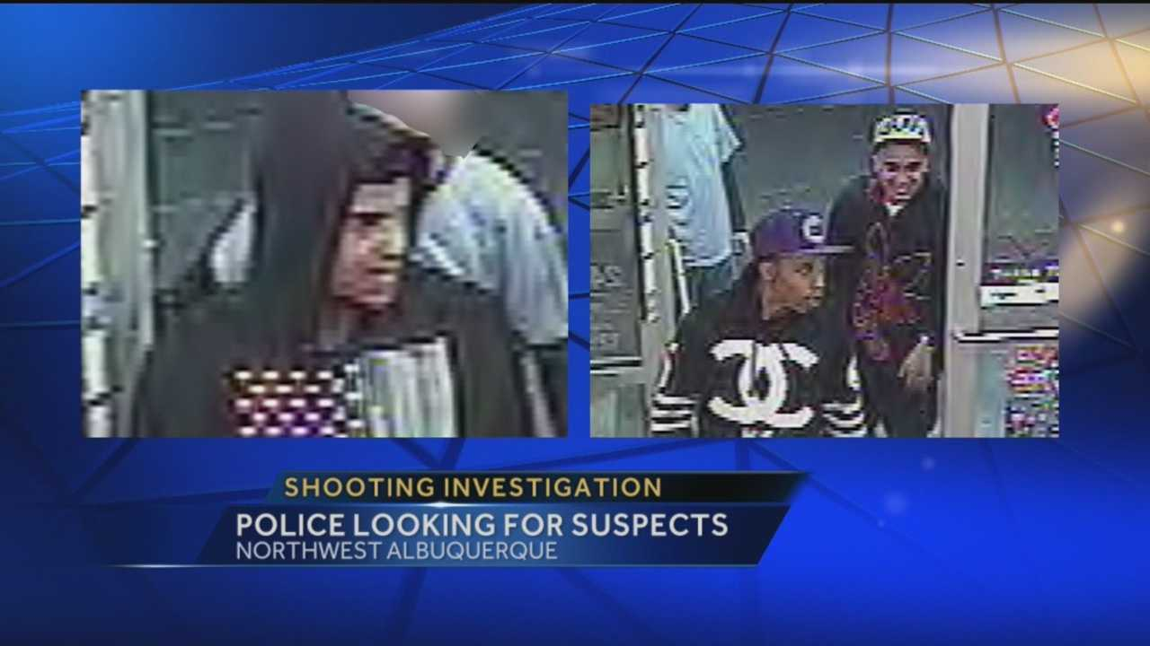 Police Looking For Shooting Suspects