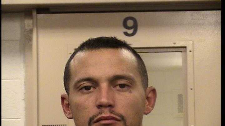 Bernalillo County sheriff's deputies arrested a man after a chase and gunshots Tuesday morning.