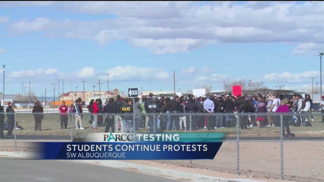 Stricter rules from Albuquerque Public Schools are now in place after a second round of PARCC exam walkouts.