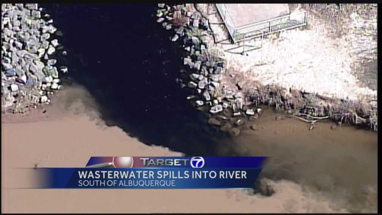 Six million gallons of wastewater made its way into the Rio Grande this week.