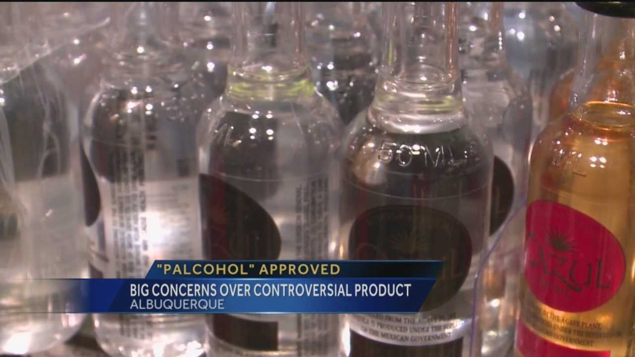 It's a new way to drink that has many people concerned. It's powdered alcohol called Palcohol and it could be in stores as early as this summer.