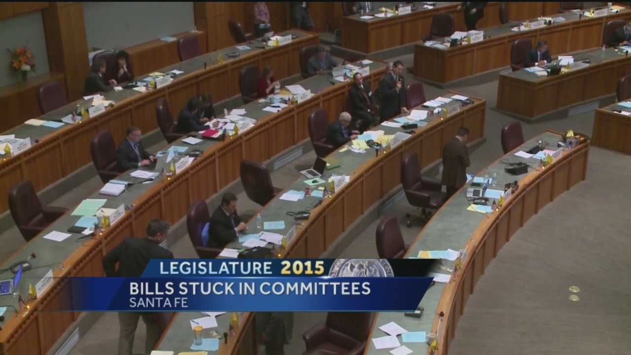 It's crunch time for lawmakers in Santa Fe, with less than five days remaining in this year's legislative session.