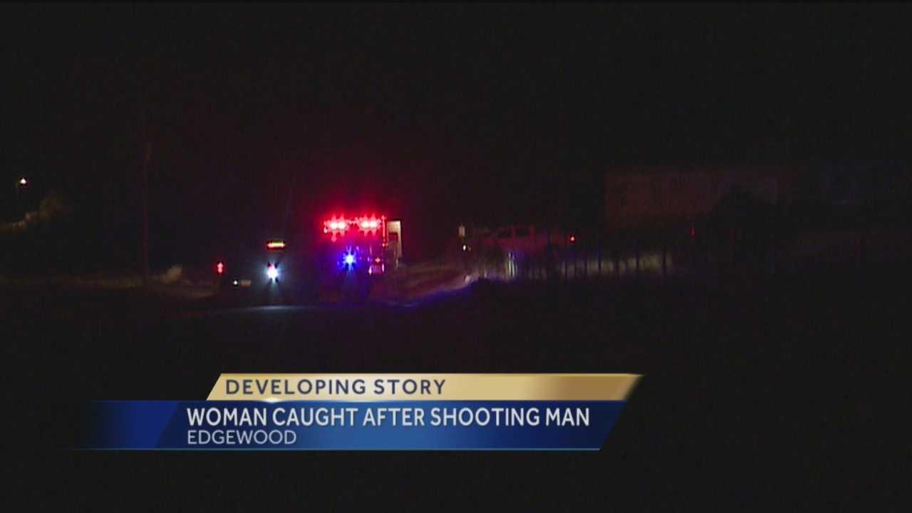 Woman Caught After Shooting Man
