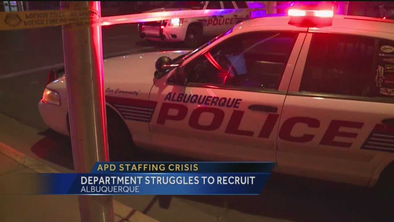 A cop crisis in Albuquerque tonight.
