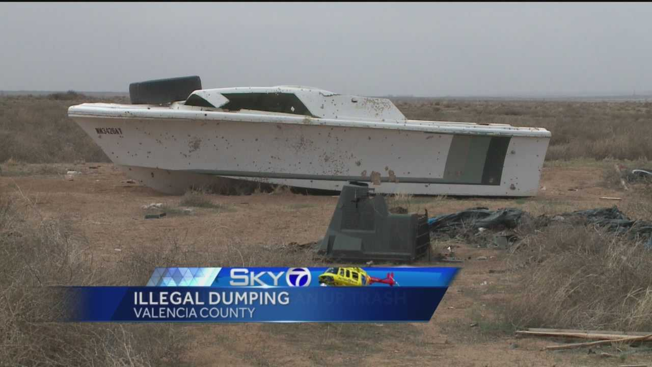 Illegal Dumping in Valencia County