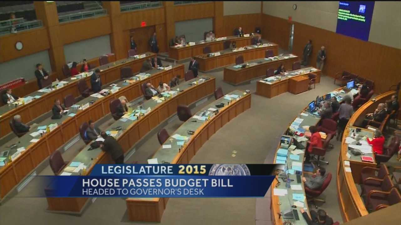 The New Mexico House of Representatives passed a $6.2 billion state budget Friday afternoon.