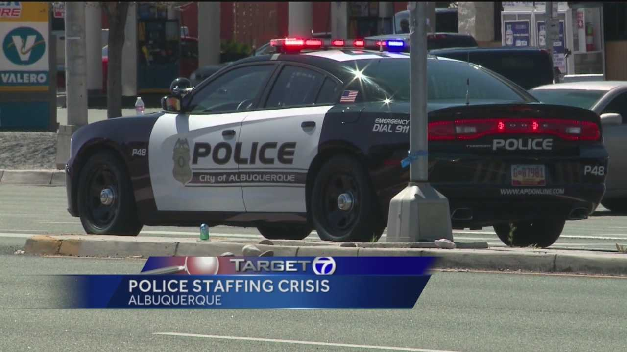 The Albuquerque police department is in a crisis.