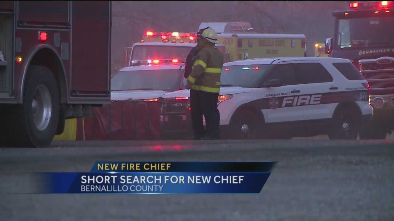 Search For New Fire Chief