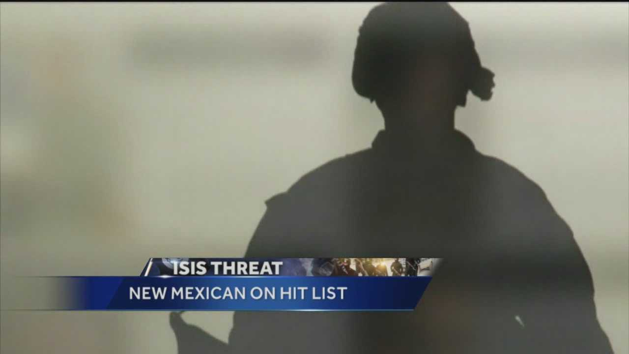 Deputies are keeping a close eye on a New Mexico veteran after he was threatened by a group linked to ISIS.