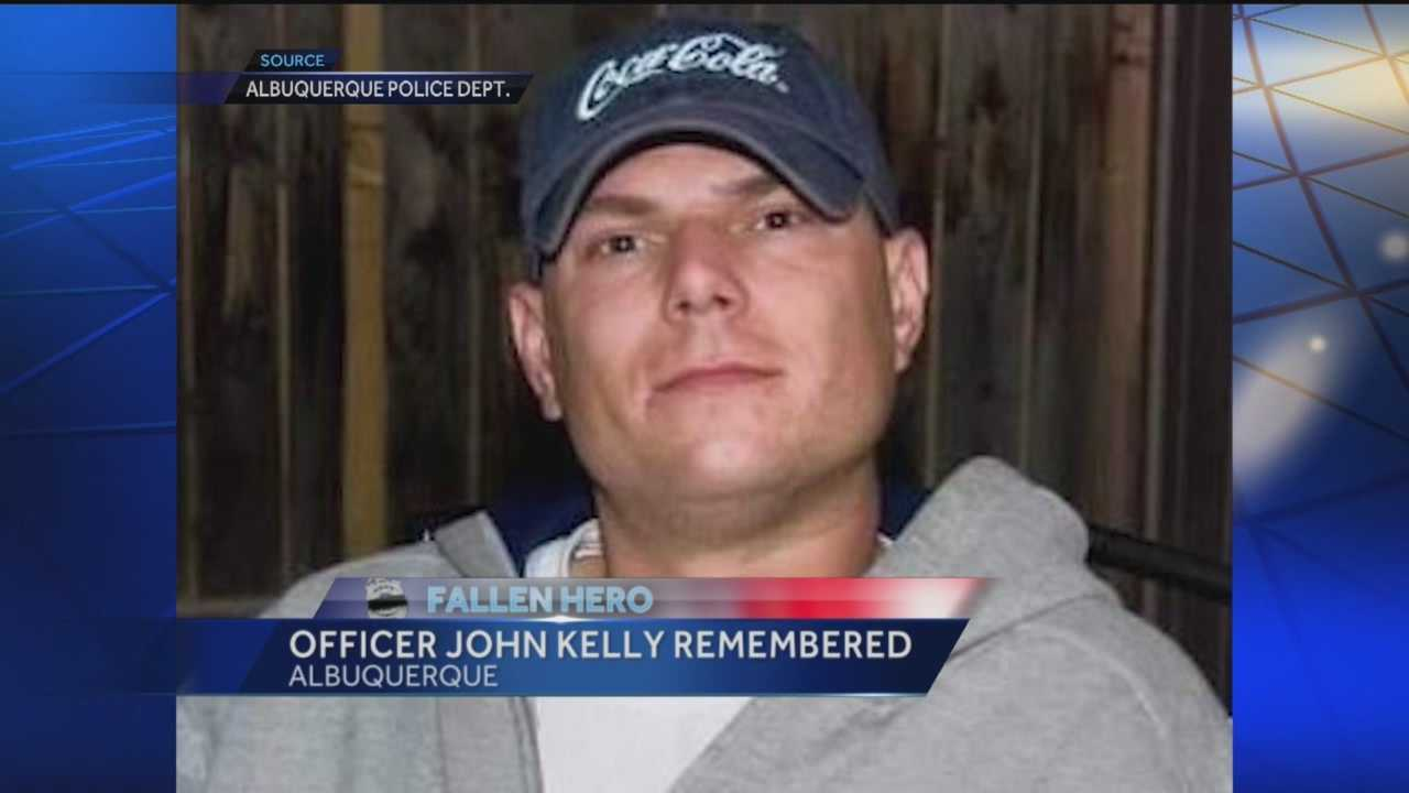 Albuquerque police said the officer who died unexpectedly Thursday morning during a verbal training exercise is Detective John Kelly.