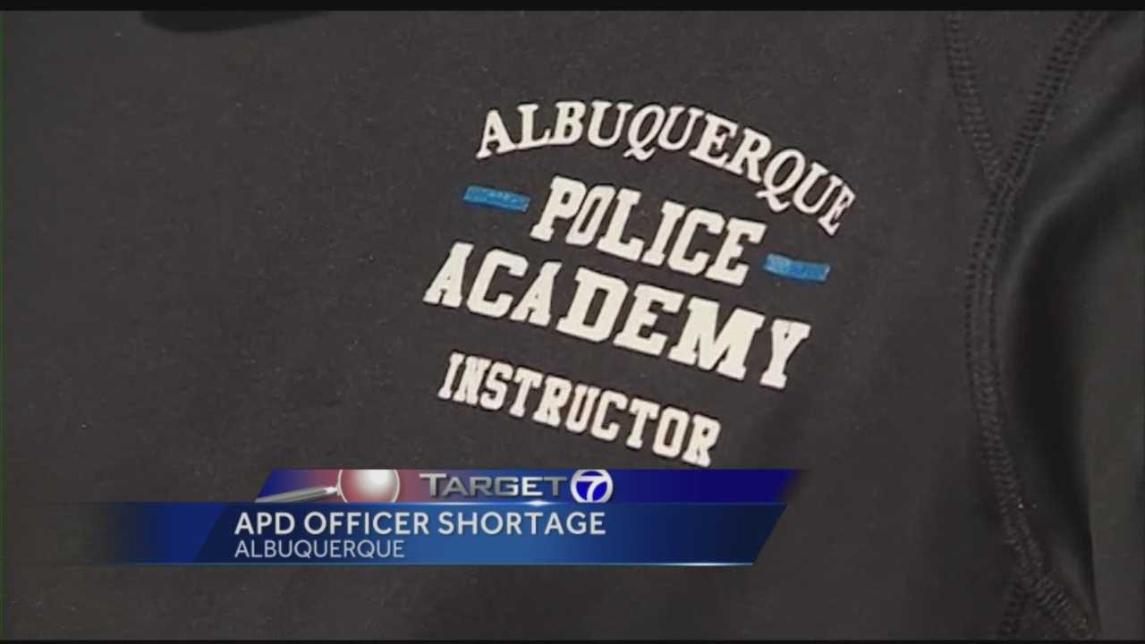 Albuquerque police feel the current officer shortage is a crisis.