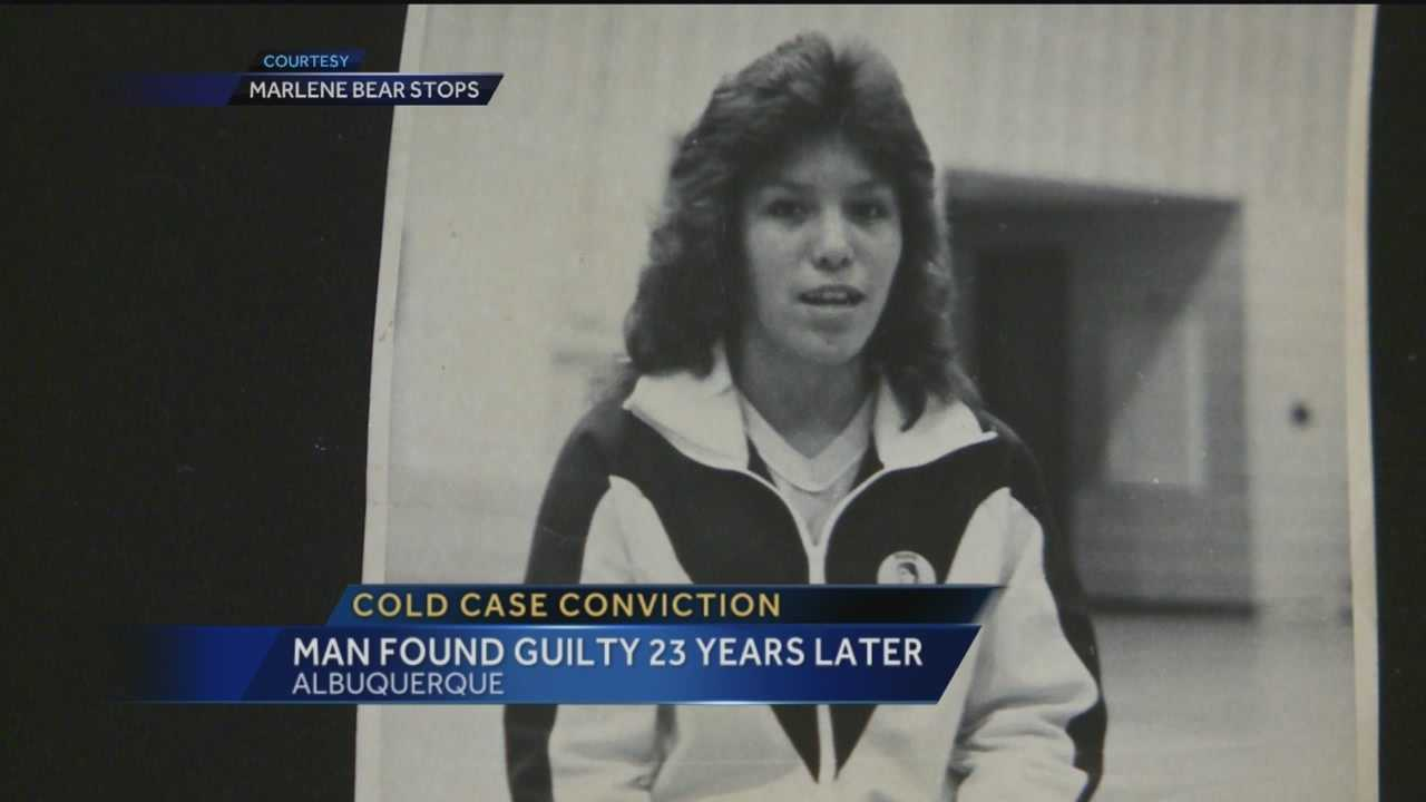 The case was cold for more than two decades, but now the man accused of murdering an Albuquerque woman in 1991 has been convicted.