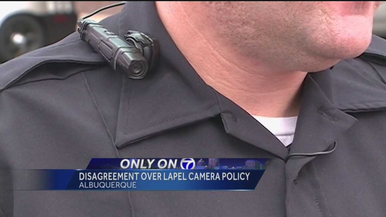 Albuquerque Police Chief Gordon Eden and the agency overseeing the department do not always see eye to eye when it comes to APD's lapel camera policy.