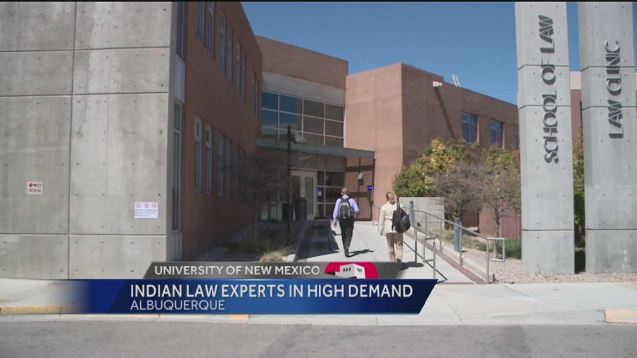 The University of New Mexico has one of the top law programs in the country, partly because of its Indian law program.