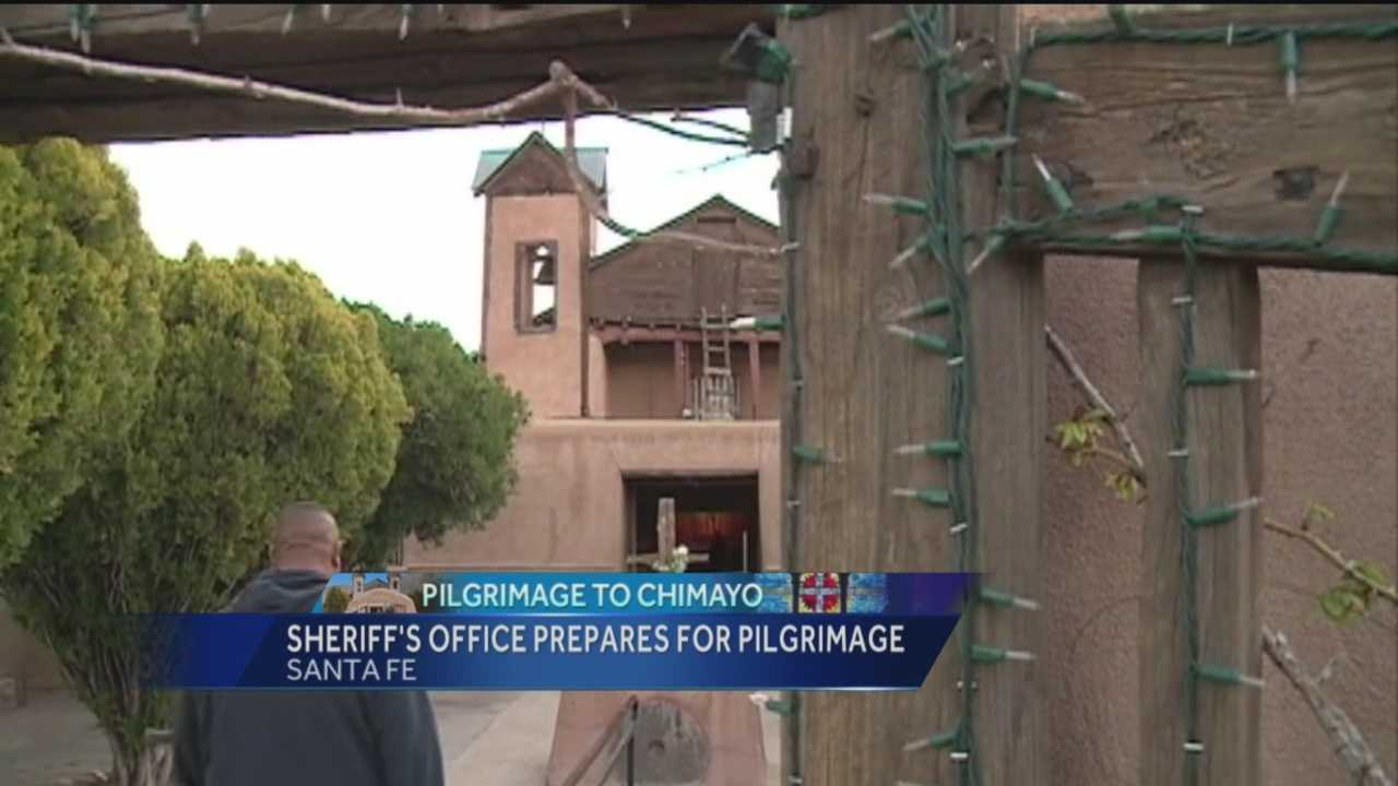 The Santa Fe County Sheriff's Office is planning for this years Pilgrimage.