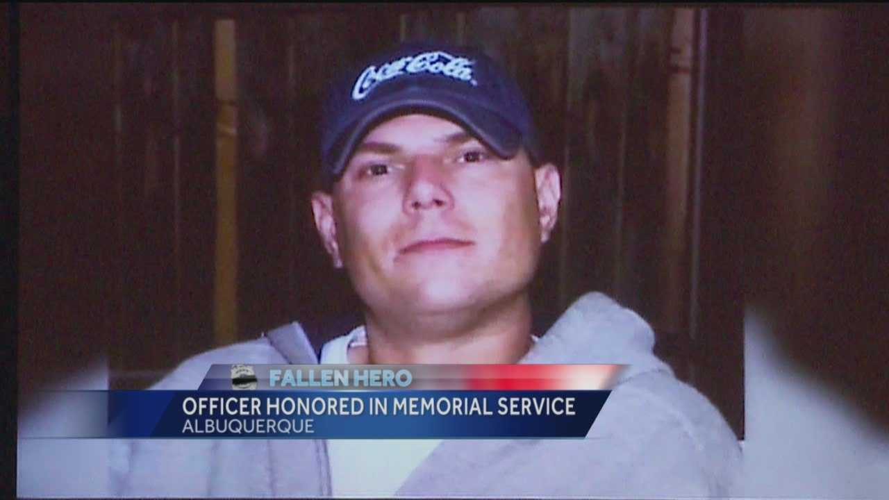Friends and family gathered to say their final goodbyes to a fallen hero on Thursday morning.