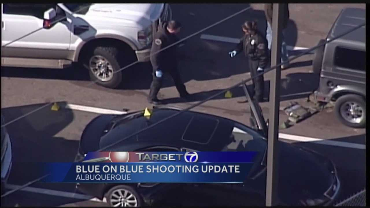 It has been three months since an Albuquerque police officer was accidentally shot and critically injured by his boss. Neither man has come back to work, so what happens to all the cases they were working on, before the shooing?
