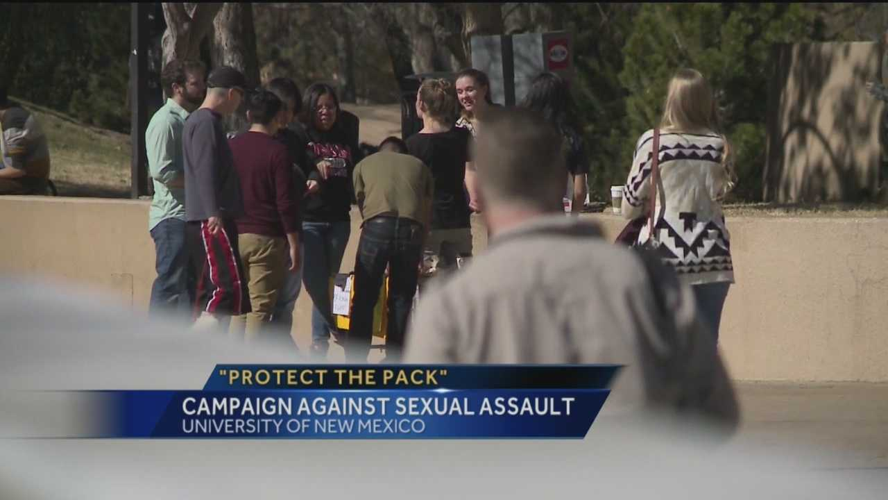 Students say they're taking action to change the culture behind sexual assaults, at the University of New Mexico. U-N-M is one of dozens schools, under federal investigation. Some students are now have a unique method, to help make the campus safer.