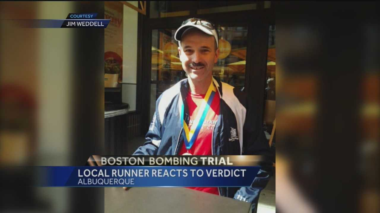 The country paid close attention to how the Boston bombing trial played out, and a number of New Mexico runners were right by the finish line when the bombs went off.