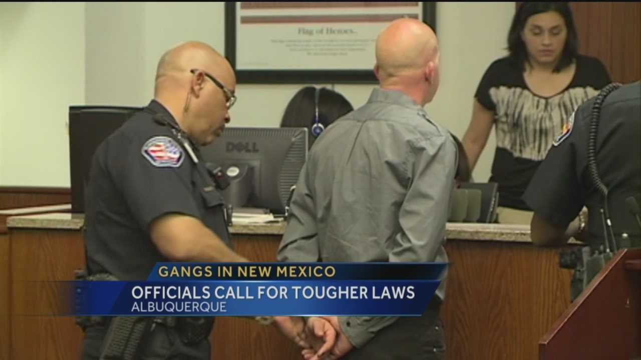 Law enforcement officials say New Mexico has a big gang problem, and it's getting worse.