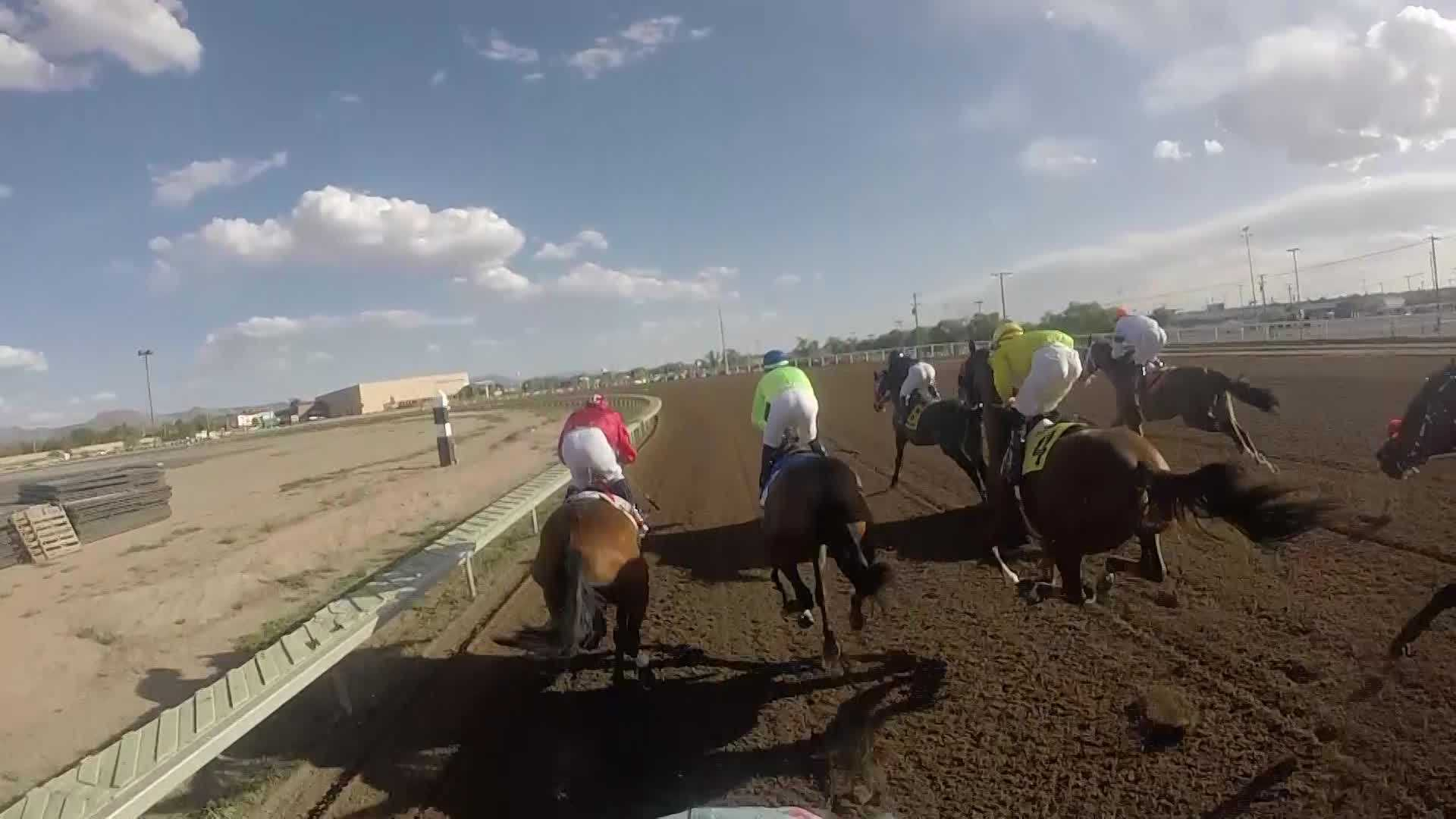 Action 7 News strapped a GoPro camera on a jockey during an actual race. See the breathtaking video!