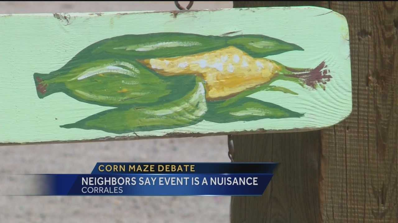 A popular corn maze in Albuquerque faces an uncertain future.