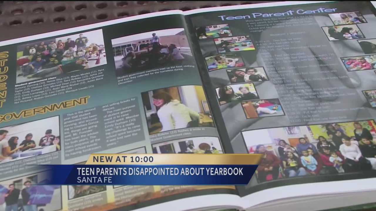For a long time, Santa Fe High School students opened their yearbooks and saw a page dedicated to those classmates who are also parents themselves. But that will not be happening this year.