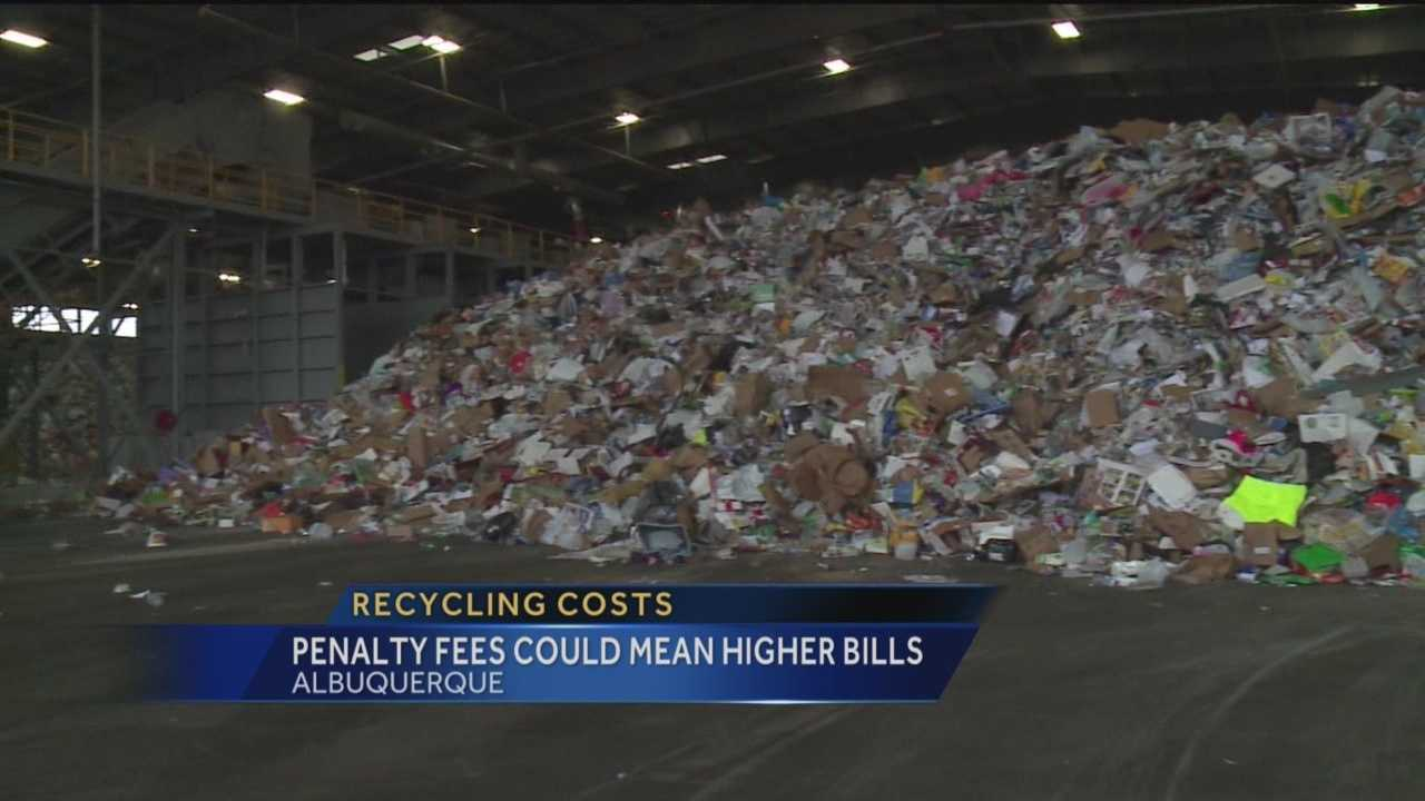 If people in Albuquerque don't start recycling more, it could cost them. But the city says there's time to stop that from happening.