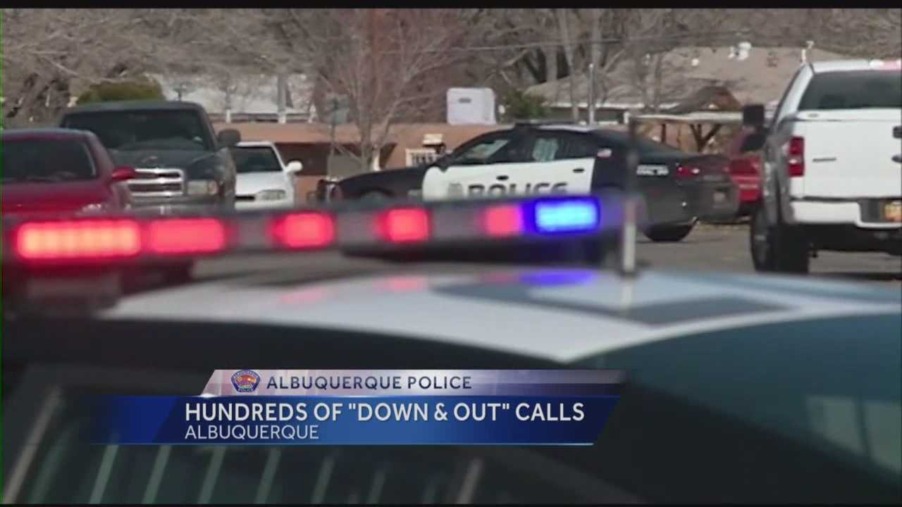 Police are responding to hundreds of Down and Out's every month and it is putting officers behind on emergency calls.