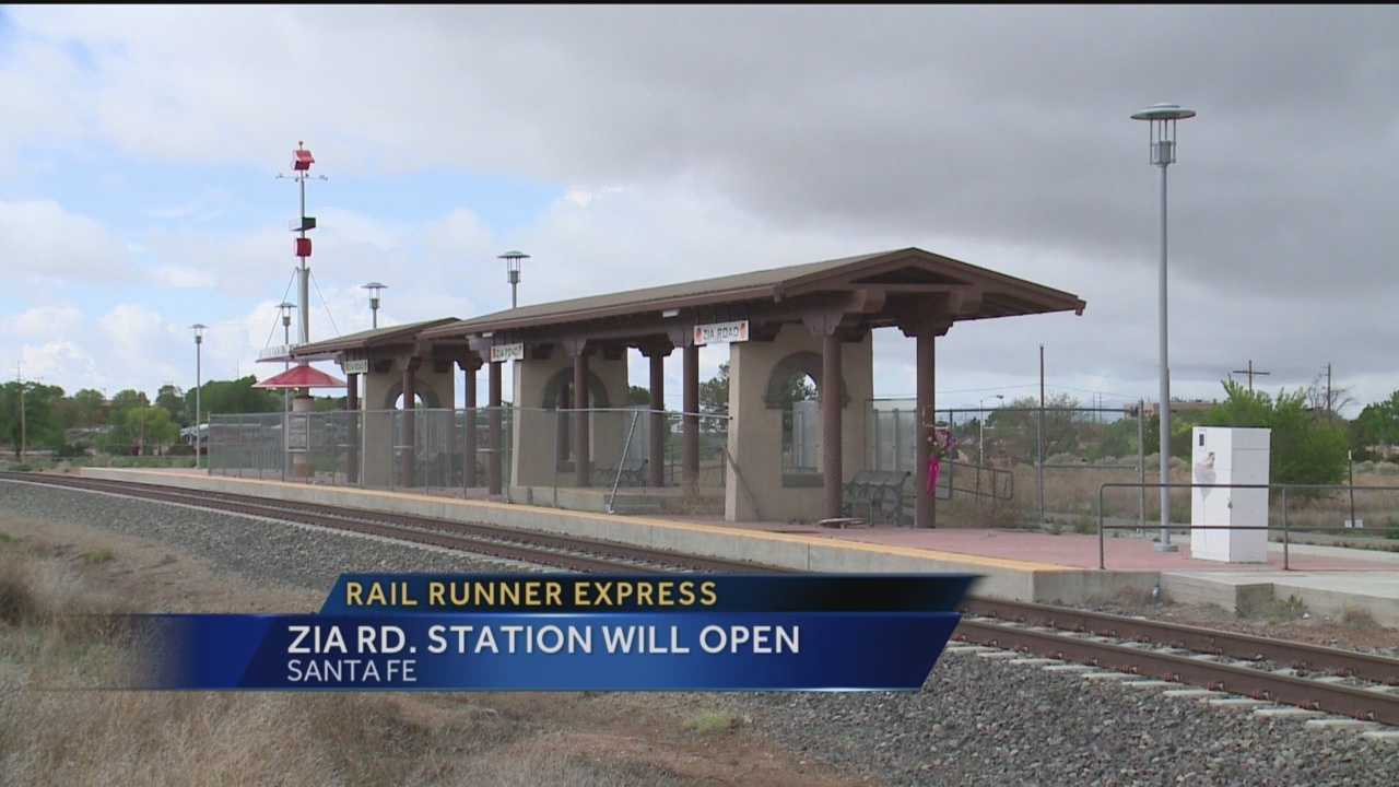 A million-dollar Santa Fe Rail Runner station built less than 10 years ago has never been used, but the city says that's changing.