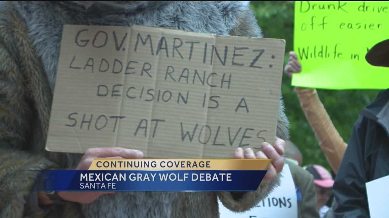 A media mogul is now in the middle of a New Mexico wolf debate.
