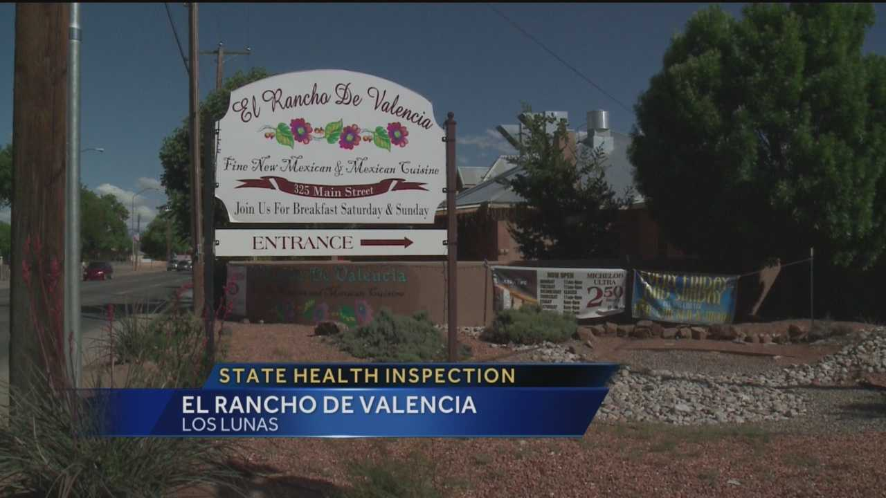 A Los Lunas restaurant has some issues that it needs to fix, according to state health officials.