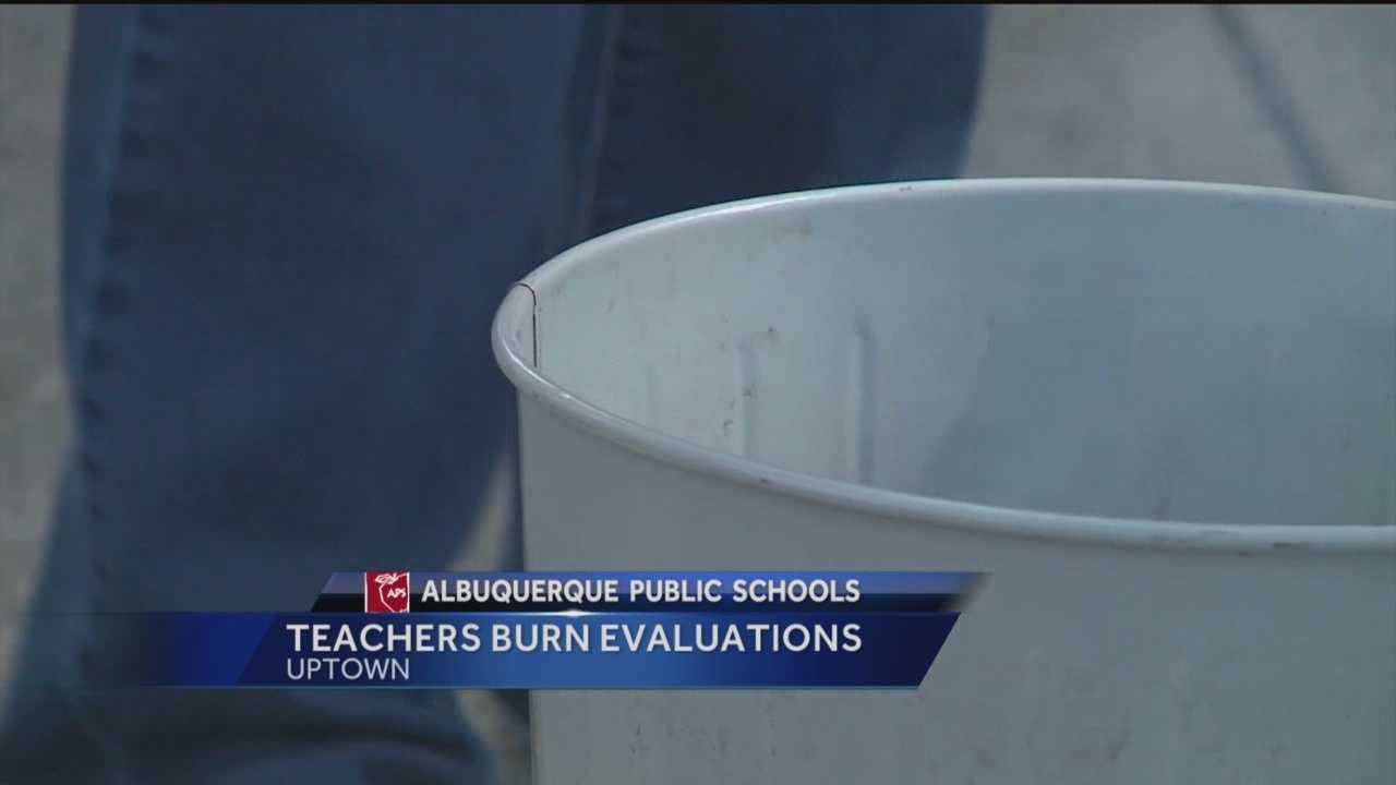 A lot of New Mexico teachers aren't happy about the results of the latest round of evaluations. Reporter Sandra Ramirez has the story.