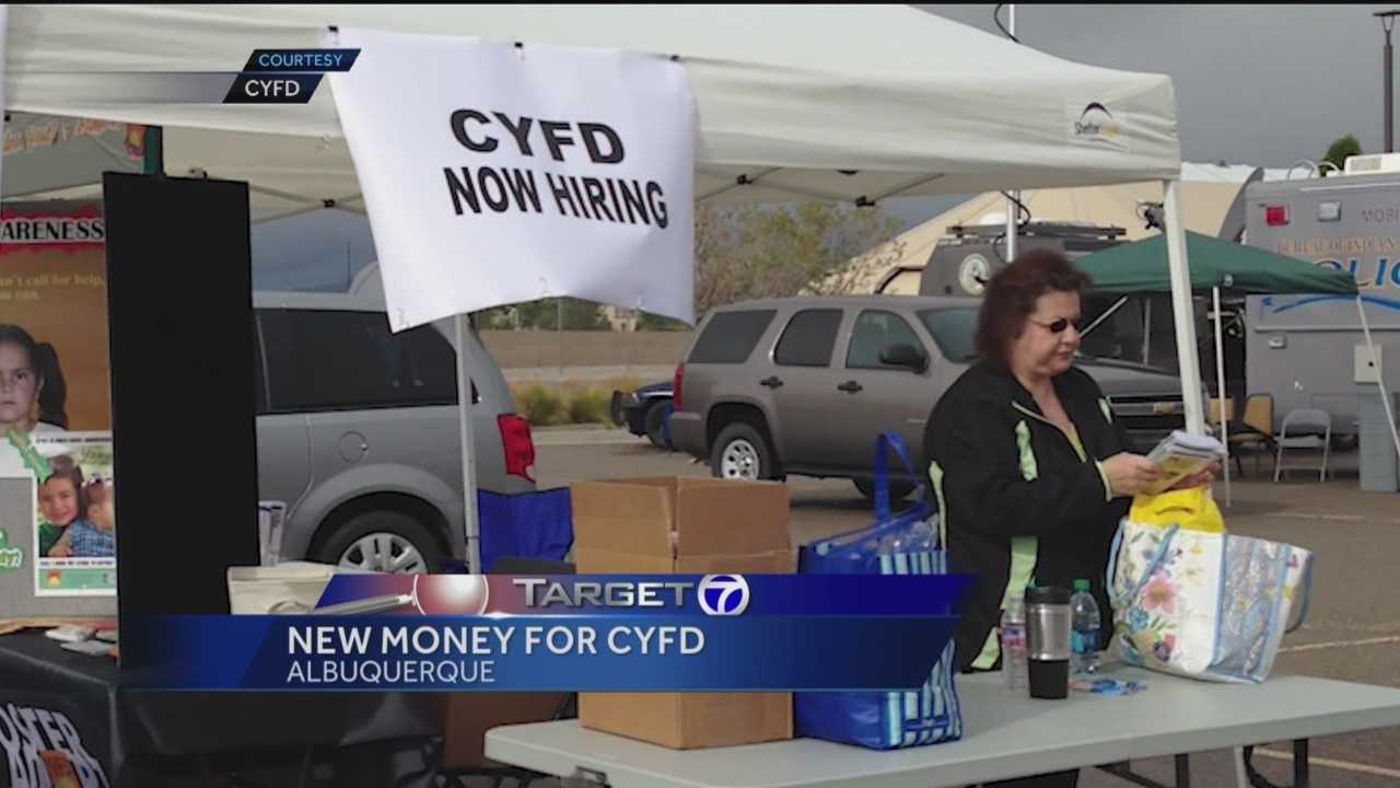 While most New Mexico agencies are scrambling and fighting for funding, CYFD is getting a major boost.